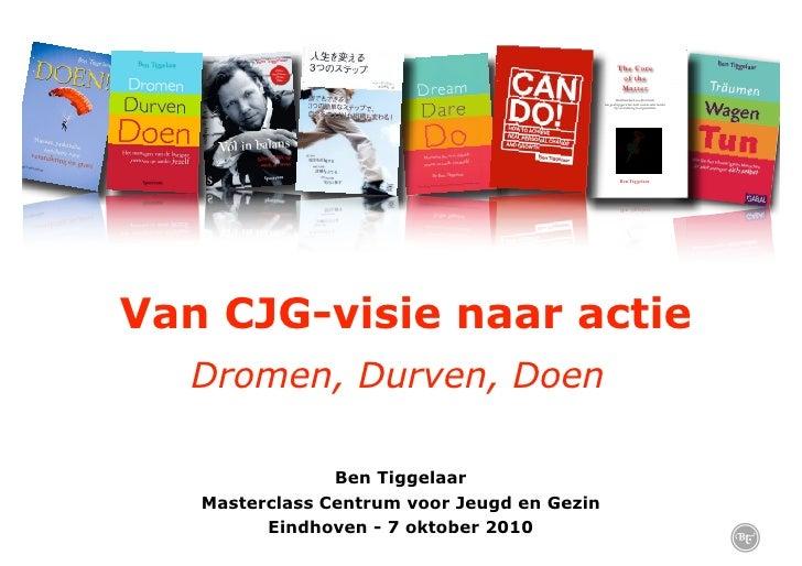 Ben Tiggelaar op de CJG Masterclass in Eindhoven
