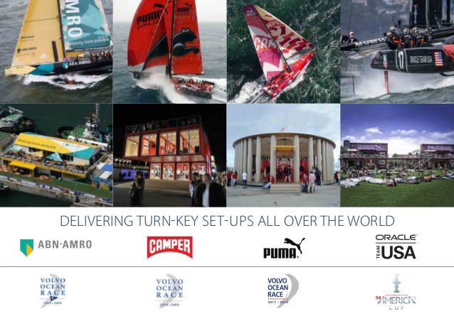 DELIVERING TURN-KEY SET-UPS ALL OVER THE WORLD