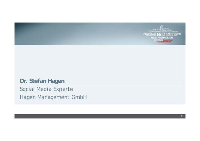 Dr. Stefan Hagen Social Media Experte Hagen Management GmbH 1