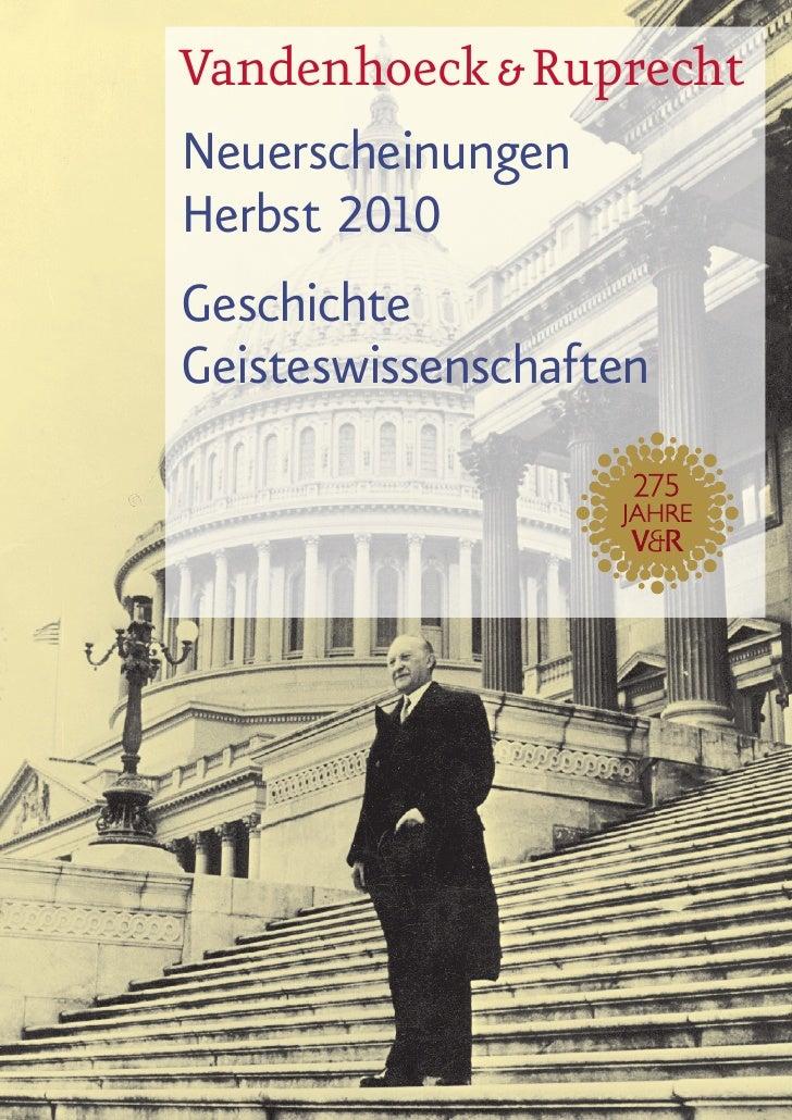 Vorschau 2  / 2010 Geisteswissenschaften