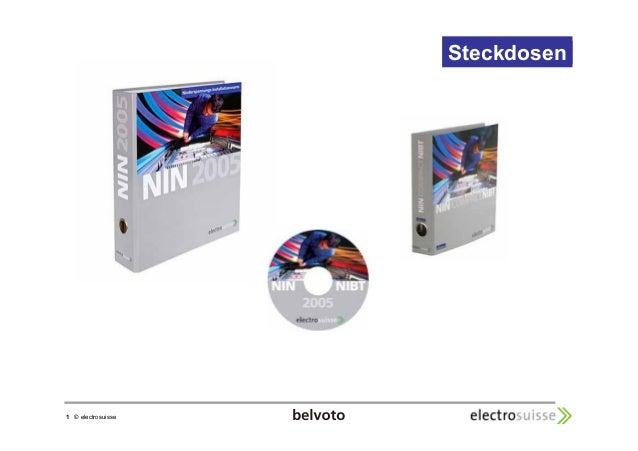 1 © electrosuisse  StecStkedckodsoseenn
