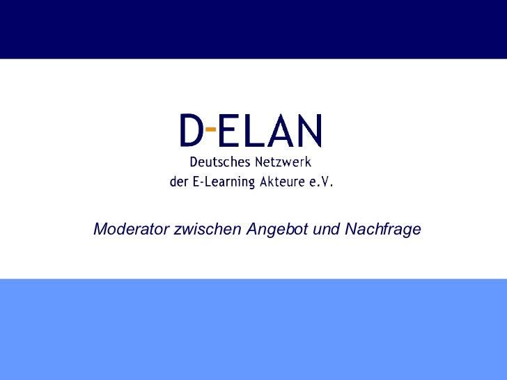 Vorstellung D-ELAN e.V.
