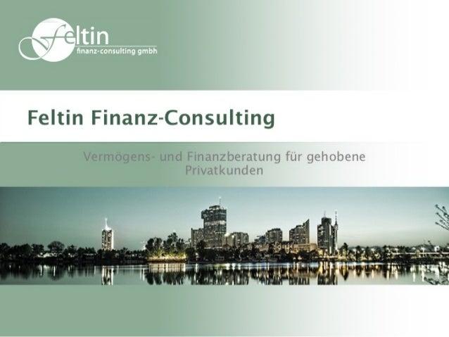 Vorstellung Feltin Finanz Consulting Gmbh
