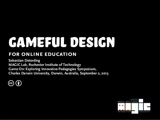 Gameful Design for Online Learning
