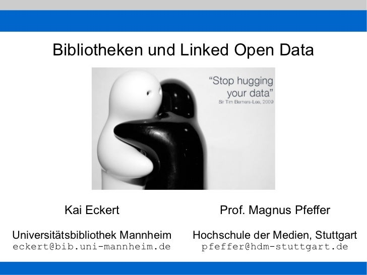 Bibliotheken und Linked Open Data