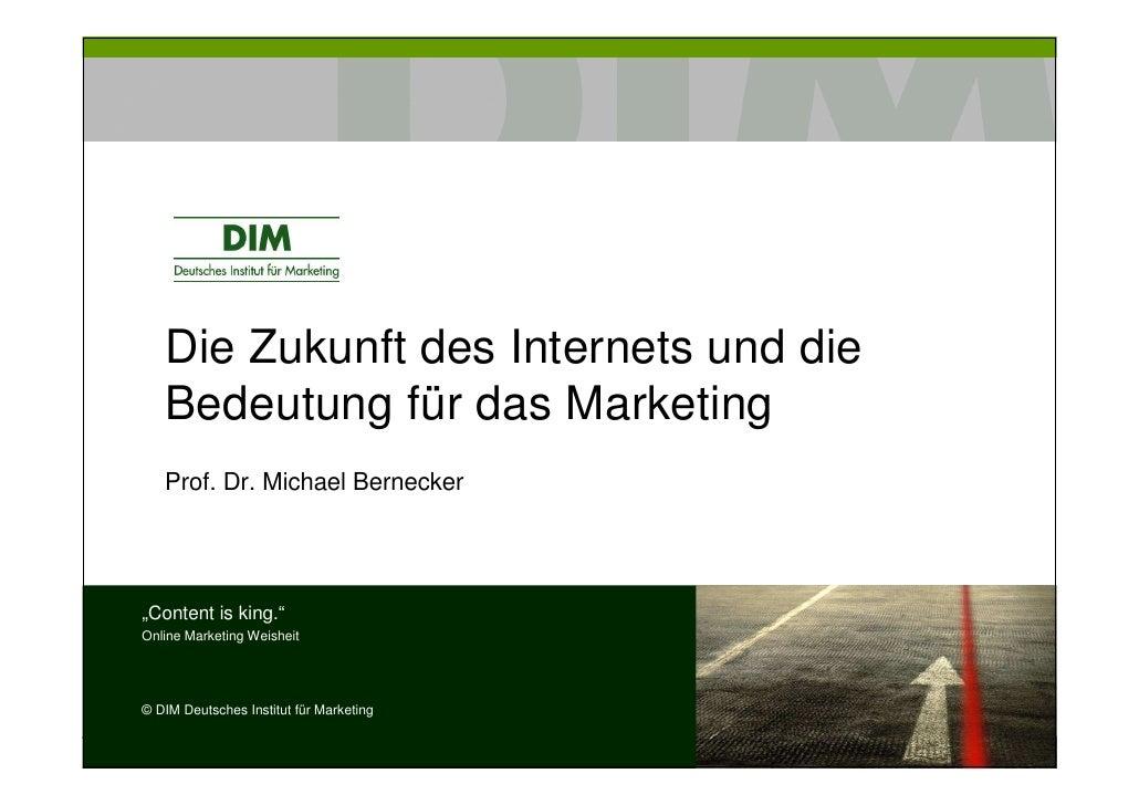 Vortrag Bernecker Online Marketing Frankfurt 10 06 2009