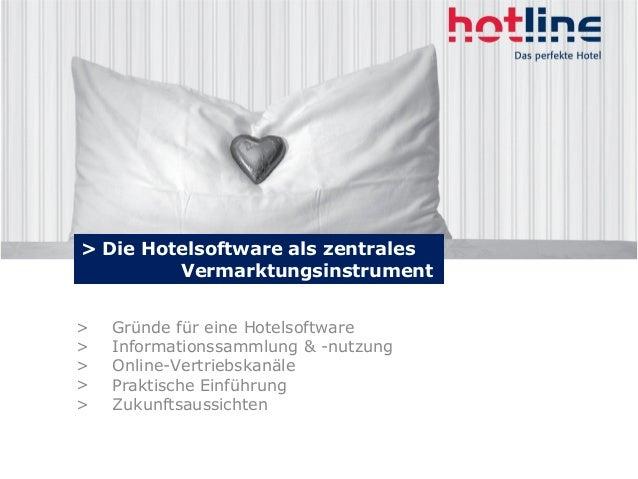 > Gründe für eine Hotelsoftware > Informationssammlung & -nutzung > Online-Vertriebskanäle > Praktische Einführung > Zukun...