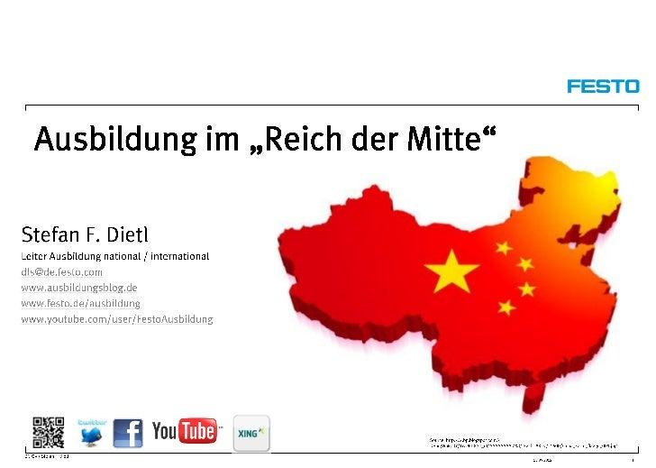 """Vortrag A-Recruiter Tage 2012 """"Ausbildung im Land des Lächelns"""""""