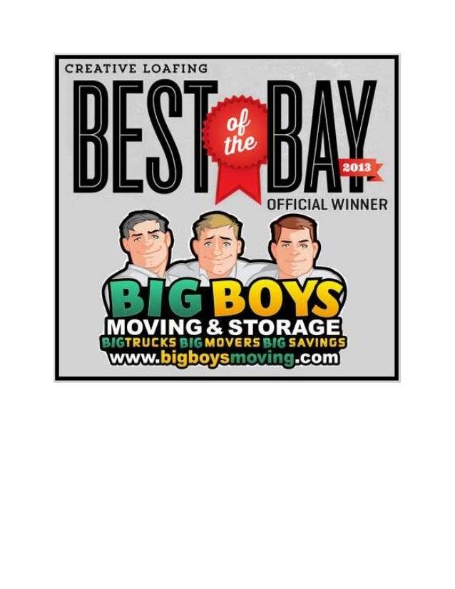 #wemovetampabay Big Boys Moving & Storage (813) 936-2699 Voted Best Tampa Movers