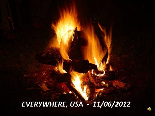 EVERYWHERE, USA - 11/06/2012