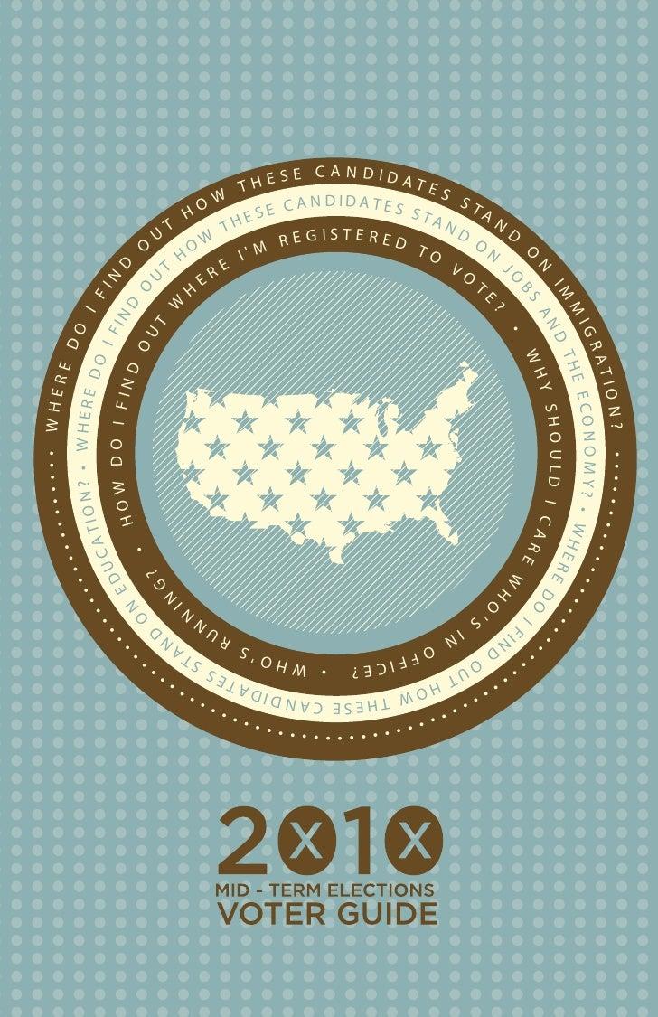 Arizona 2010 Mid-term Voter Guide