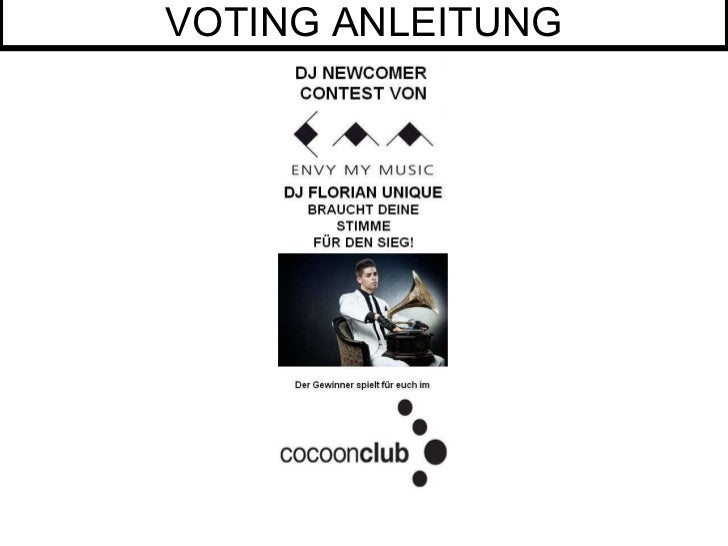 VOTING ANLEITUNG