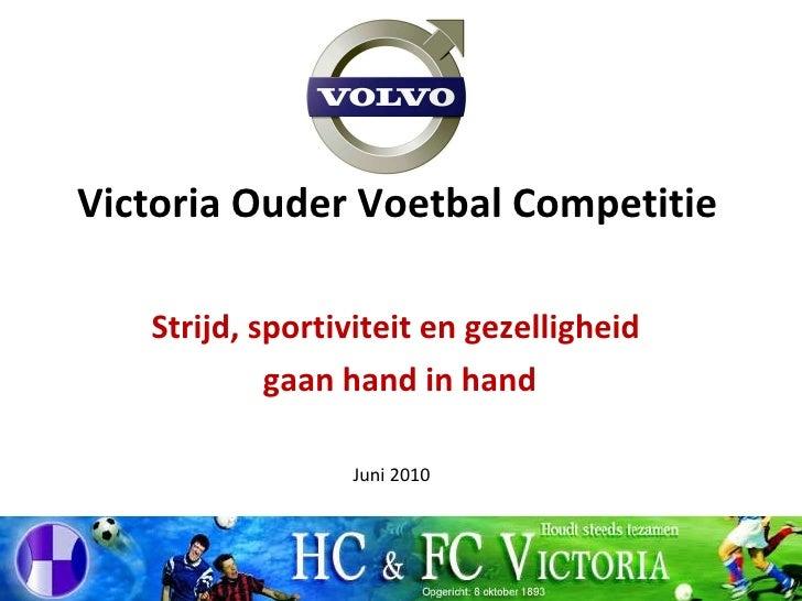VOVC presentatie 2010