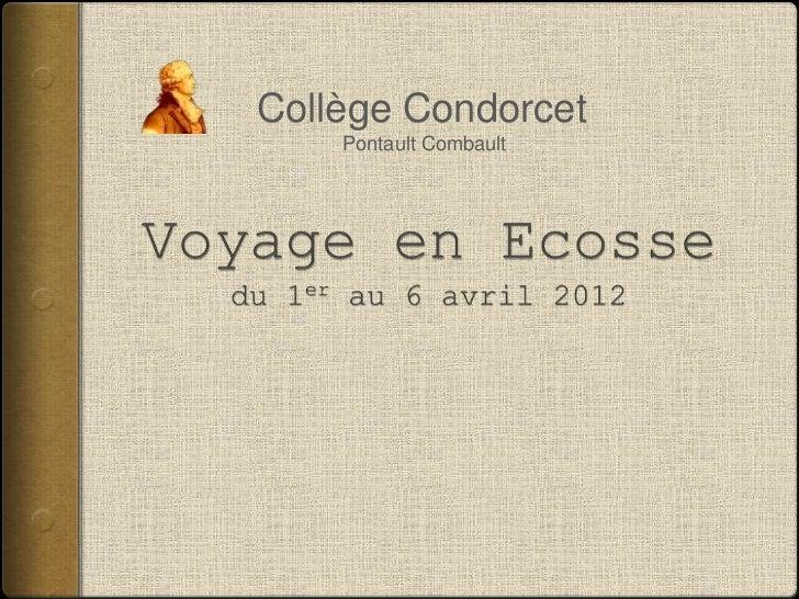 Collège Condorcet    Pontault Combault