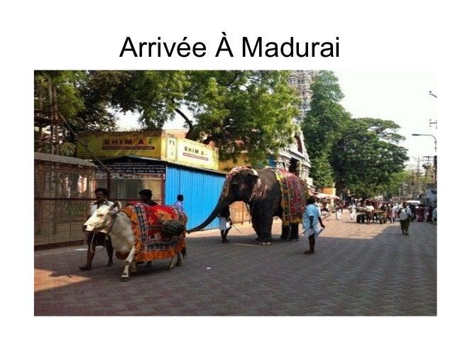 Arrivée À Madurai