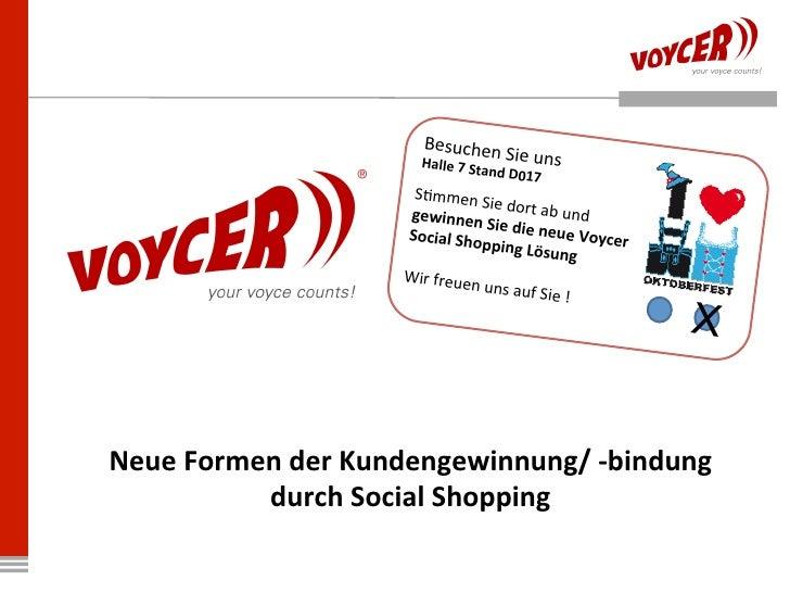 Vorträge Voycer auf der dmexco 2011 in Köln (CEO Michael Nenninger / Ralf Mager, eCommerce Manager bei LODENFREY)