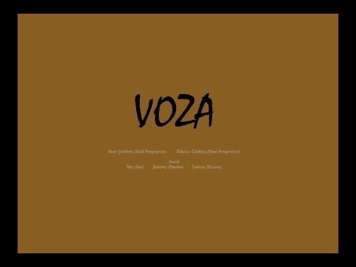 Voza Live Music