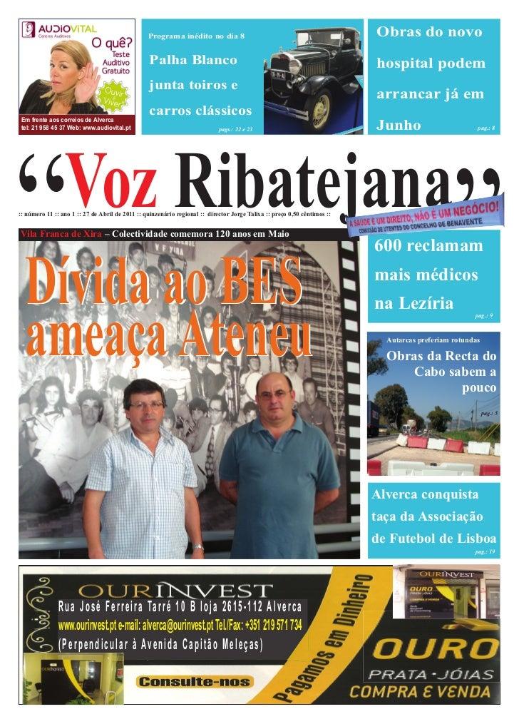 VOZ RIBATEJA EDIÇÃO COMPETA 27 ABRIL
