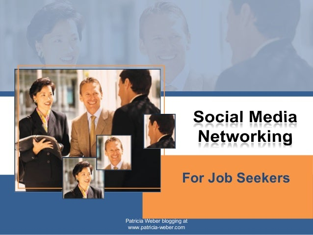 social media networking job seekers
