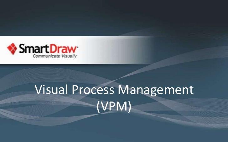 Visual Process Management (VPM)