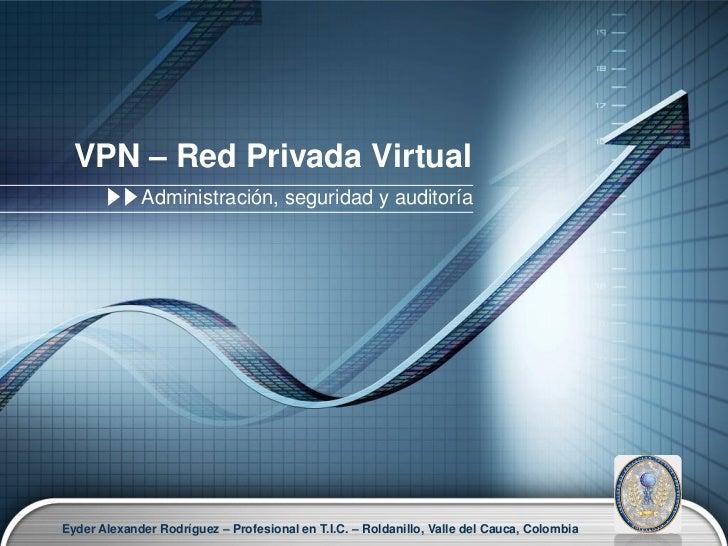 VPN o Red privada virtual