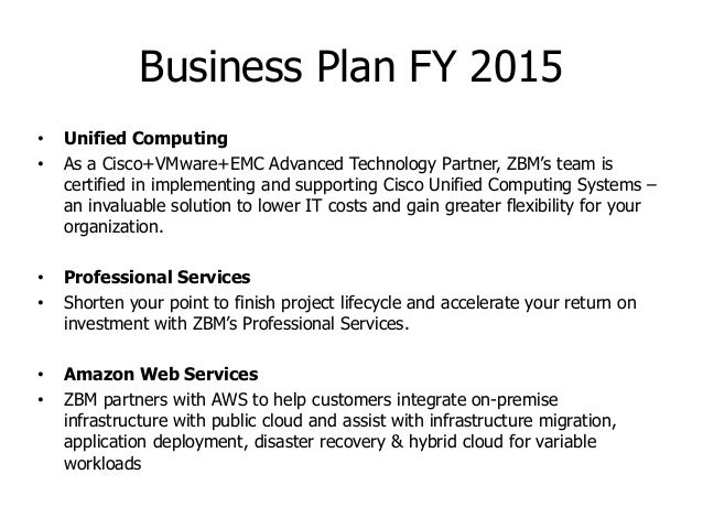 Business Sales Plan