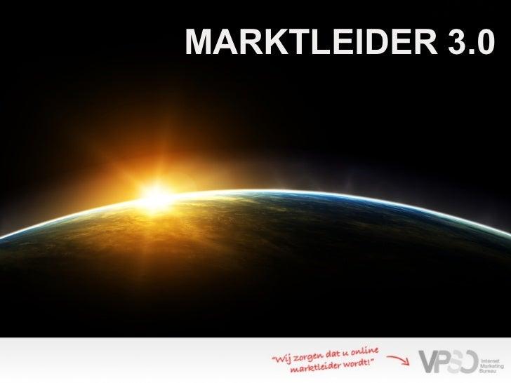 VPSO Marktleider 3.0 Sessie 2 deel1