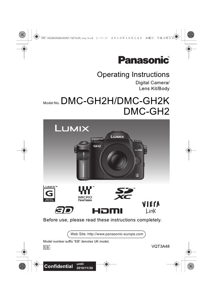 Operating Instructions                                                     Digital Camera/                                ...