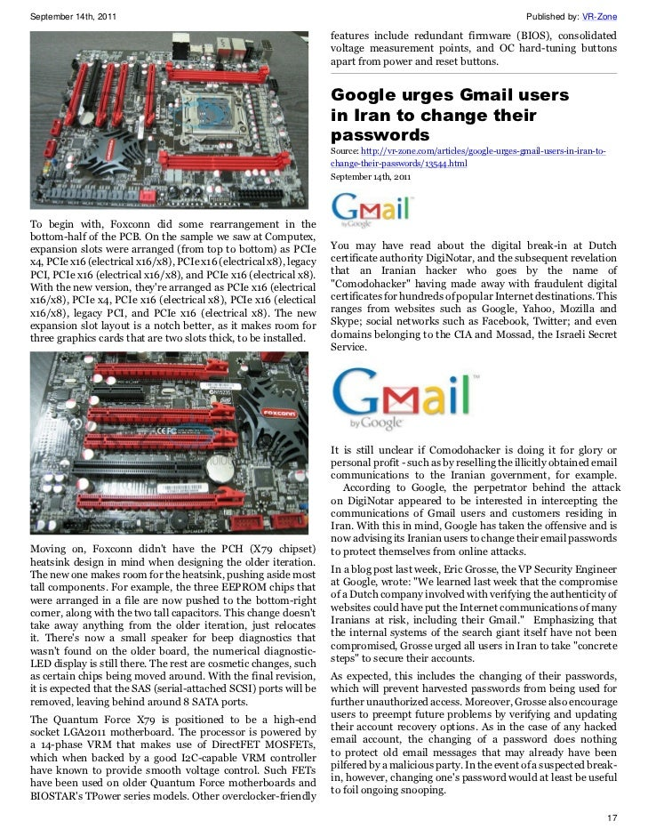VR-Zone Tech News for the Geeks Sep 2011 Issue 2