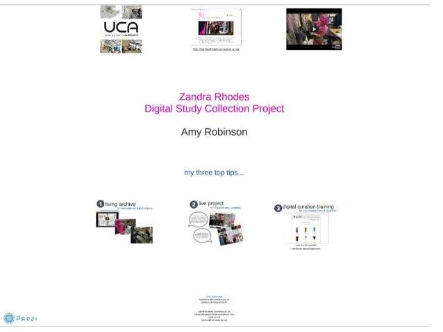 VRA 2014 Case Studies in International Resources, Robinson