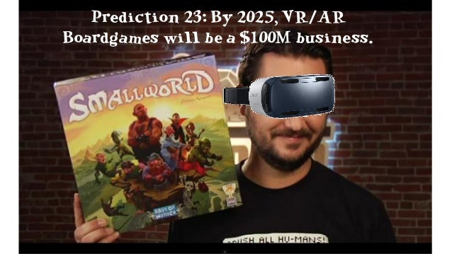 Prediction 26: By 2018, VR Emotes will be very popular, and have a stupid name.