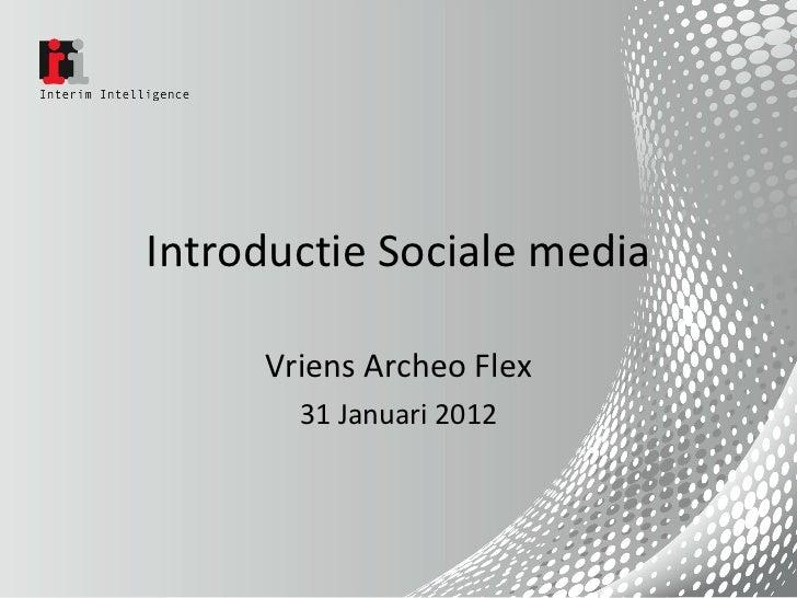 Sociale Media en archeologie