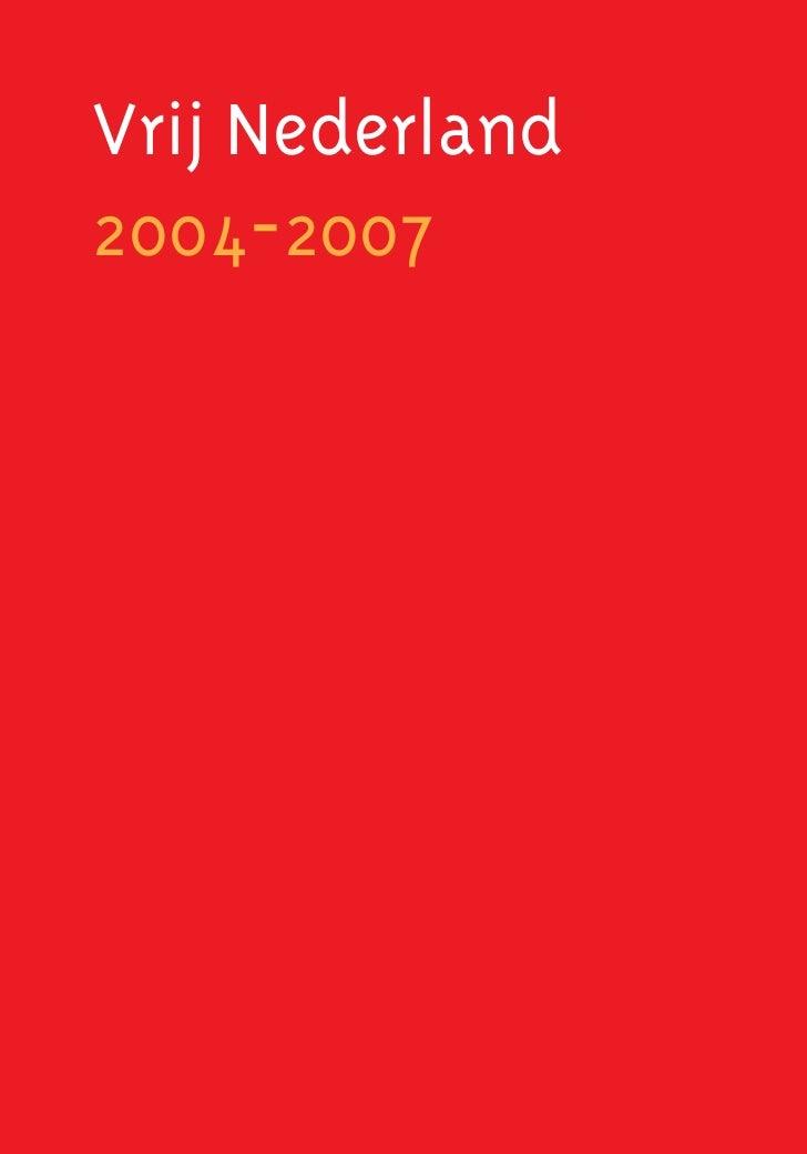 Vrij Nederland2004-2007