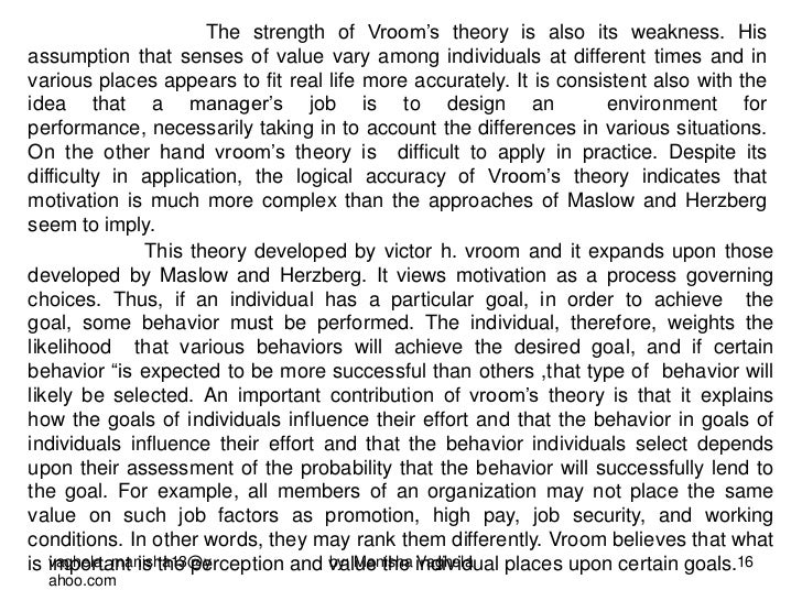 strengths of herzbergs theory This article aims to review herzberg's two-factor theory to employee motivation in , managers' strength herzberg's theory of motivation 1 i.