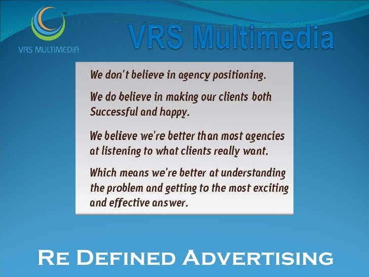 Re Defined Advertising