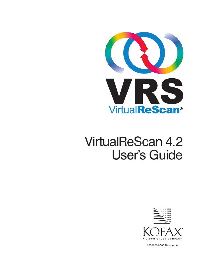 Vrs User Guide