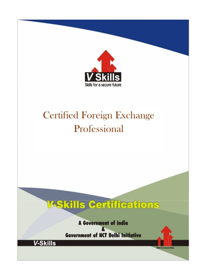 Certified Foreign Exchange        Professional