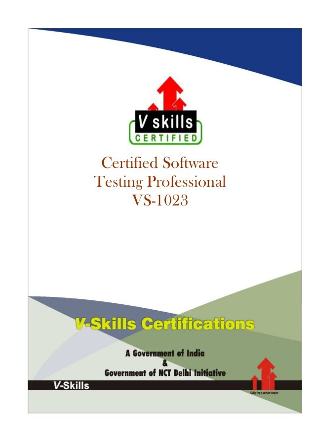 Certified Software Testing Professional VS-1023