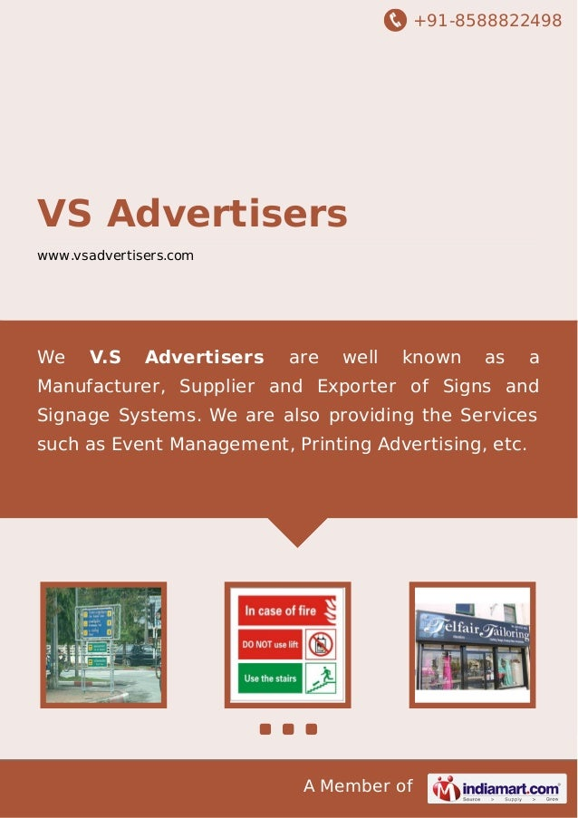 +91-8588822498  VS Advertisers www.vsadvertisers.com  We  V.S  Advertisers  are  well  known  as  a  Manufacturer, Supplie...