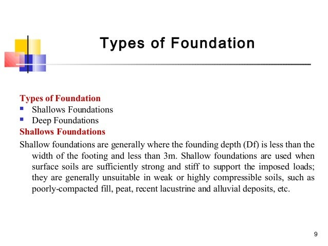 difference between footing and foundation pdf