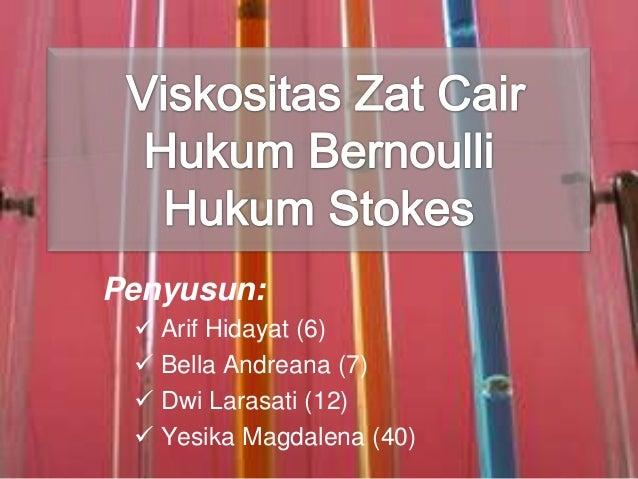 Penyusun:  Arif Hidayat (6)  Bella Andreana (7)  Dwi Larasati (12)  Yesika Magdalena (40)