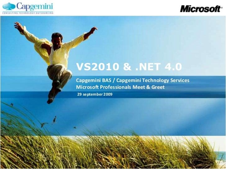 Presentatie .NET 4/VS2010