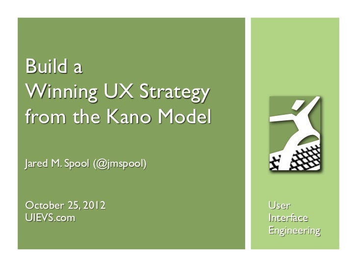 The Kano Model with Jared Spool