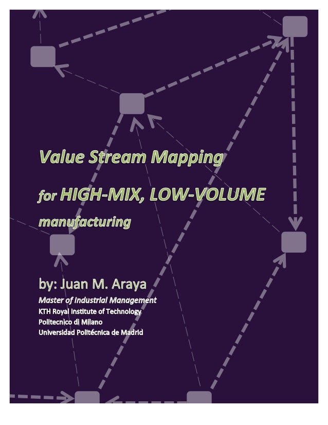 VSM for high-mix,low-volume companies