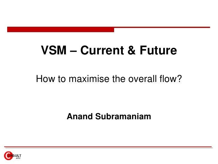 VSM – Current & Future