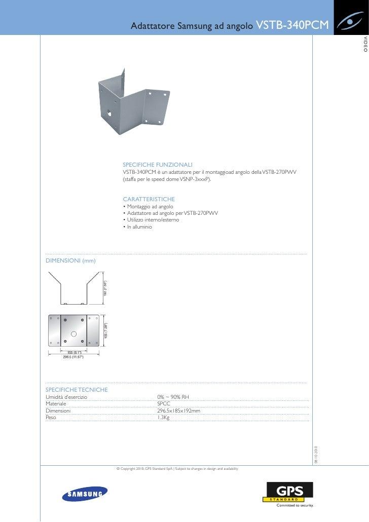 Adattatore Samsung ad angolo VSTB-340PCM                                                                                  ...
