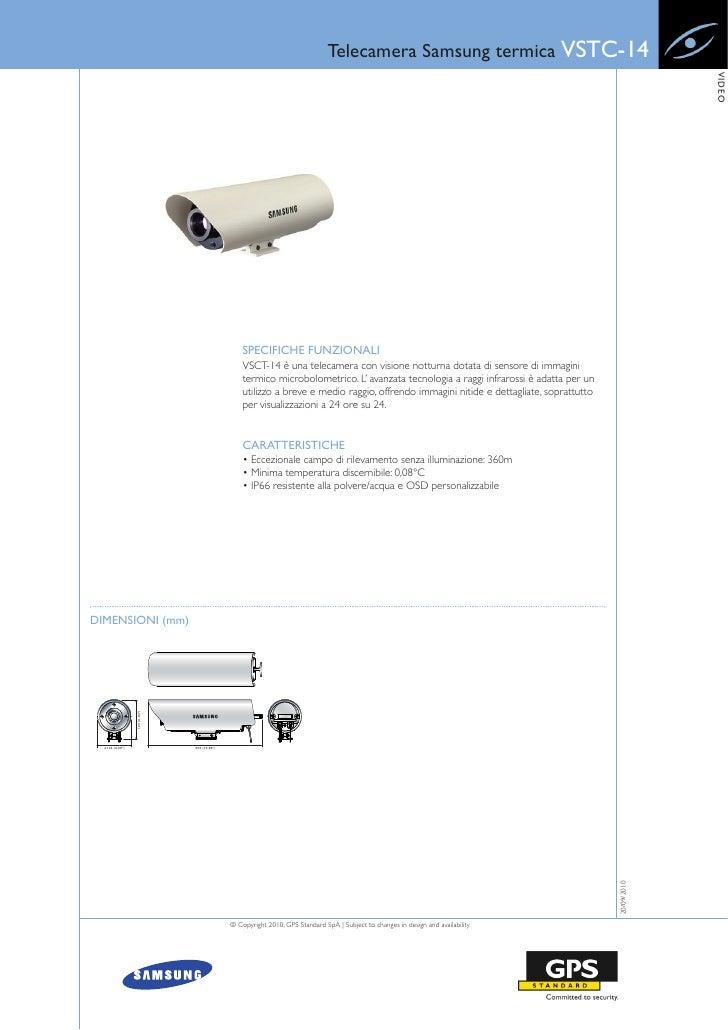 Telecamera Samsung termica VSTC-14                                                                                        ...