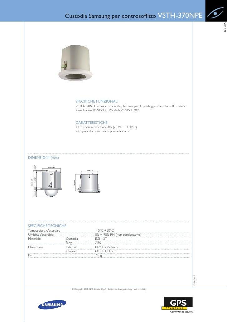 Custodia Samsung per controsoffitto VSTH-370NPE                                                                           ...