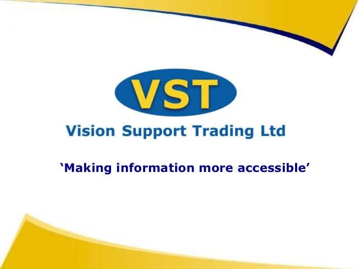 ' Making information more accessible'