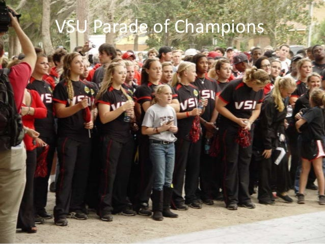 VSU's Parade of Champions